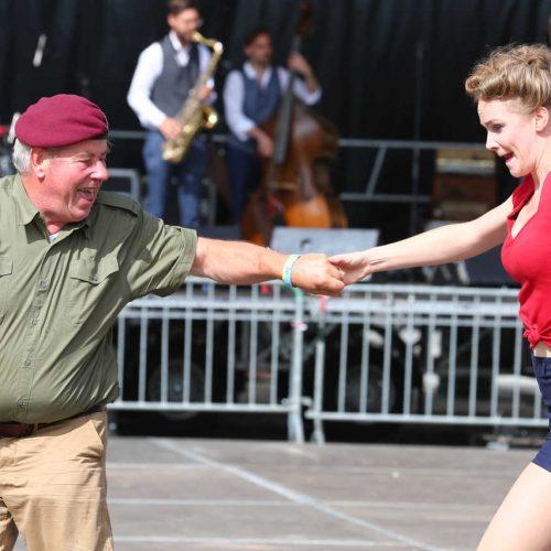 Brussels liberation day danse