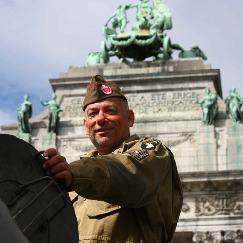 Brussels liberation day militaire