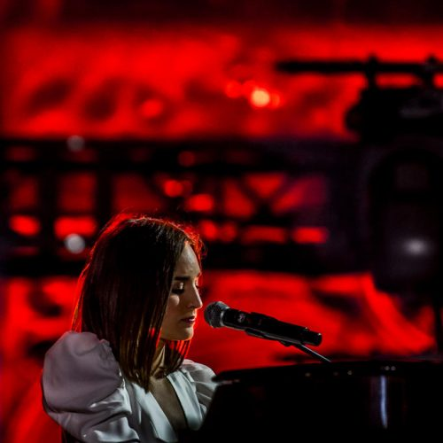 Fête de la fédération Wallonie Bruxelles concert chanteuse