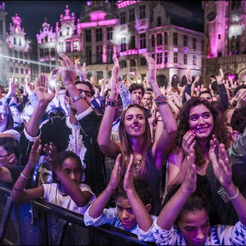 Fête de la fédération Wallonie Bruxelles public